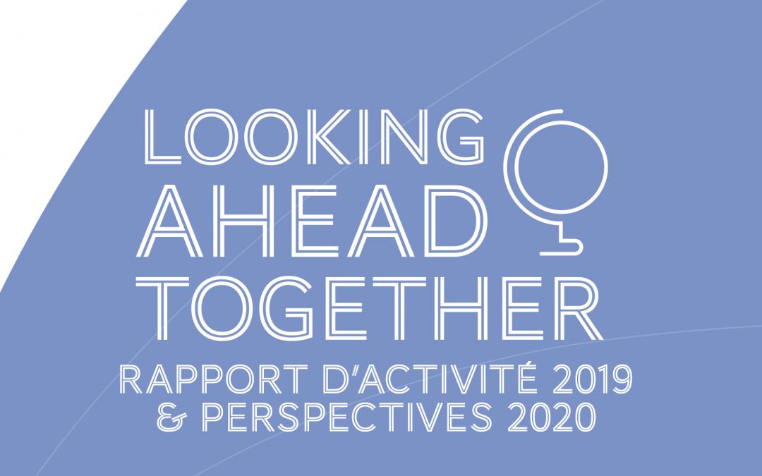 Perspectives 2020, rapport d'activité 2019, découvrez la nouvelle édition de notre rapport annuel !
